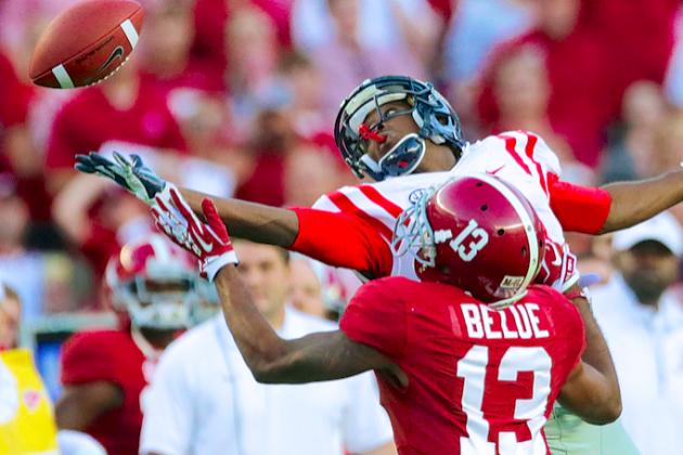 Alabama's Title Hopes Resting on Secondary, Not Quarterback