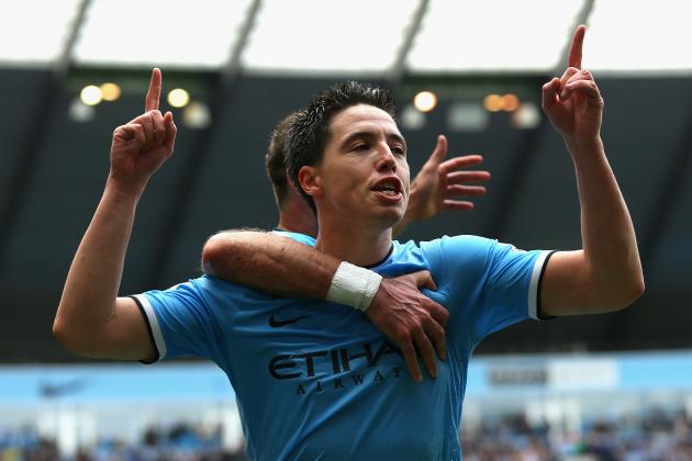 Nasri Set to Extend Man City Contract