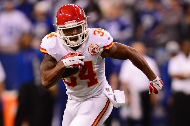 What to Expect: Knile Davis Kansas City Chiefs