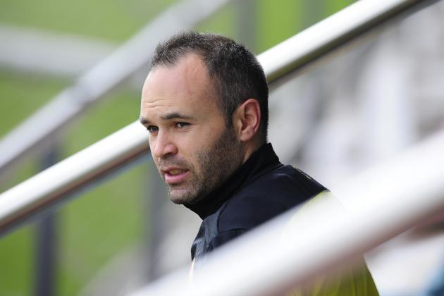 Manchester United Transfer News: Andres Iniesta's Comments Are Insignificant