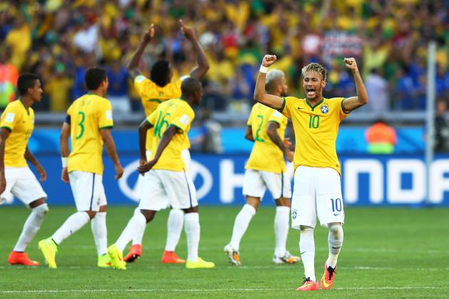 Brazil vs. Colombia: Viewing Info and Keys for 2014 World Cup Quarterfinal Clash