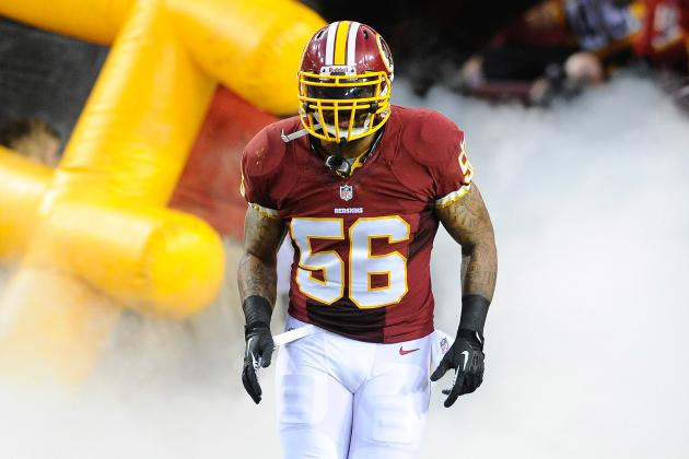 Washington Redskins: Can Perry Riley Make Up for the Loss of London Fletcher?