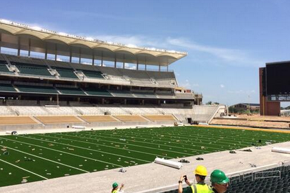 Photos: Local Media Gets Tour Of Baylor's New McLane Stadium