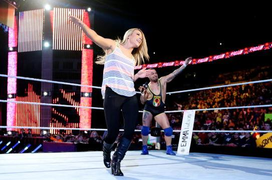 WWE Diva Emma Released, Then Reinstated Following Arrest