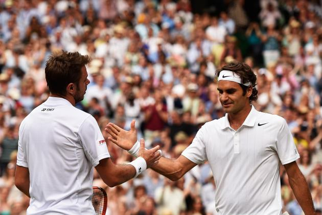 Wimbledon 2014 Results: Scores and Recap from Wednesday's Quarterfinal Matches