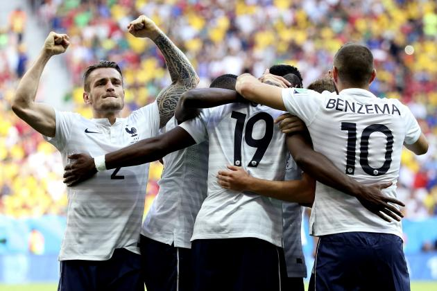 France vs. Germany: Form Guide, Live Stream and Prediction for 2014 World Cup