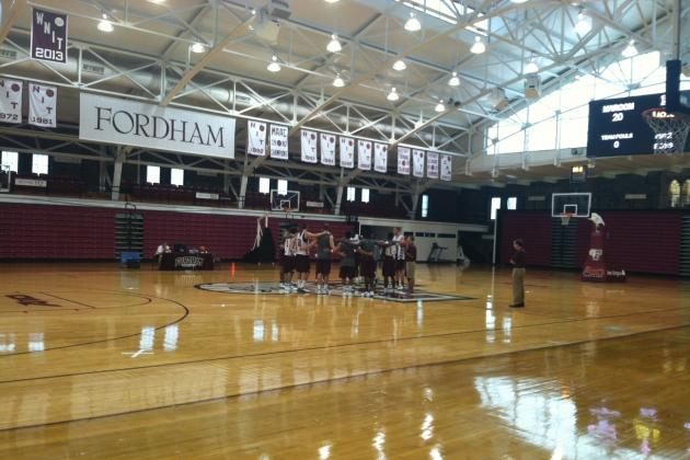 Fordham's Summer Heats Up with Arrival of International Recruits