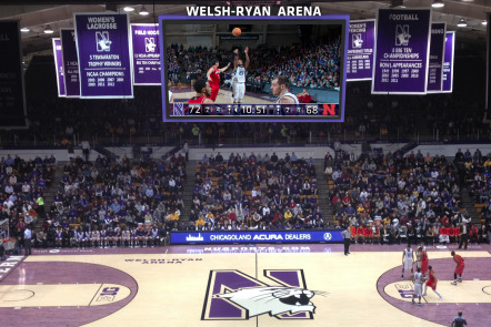 Northwestern Mascot Says Sad Goodbye as Welsh-Ryan Gets Facelift