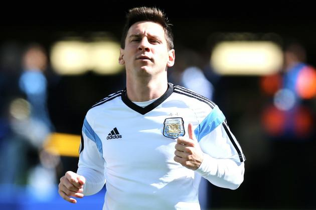 Argentina Revert to Form vs. Switzerland, but Lionel Messi Still the Trump Card