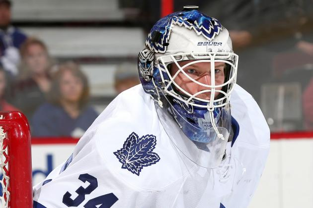 Maple Leafs' James Reimer Files for Salary Arbitration