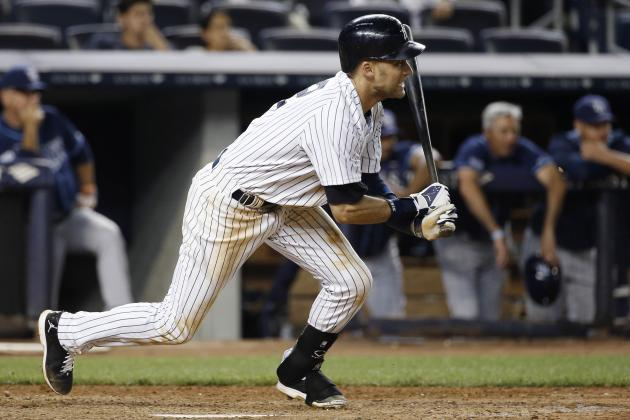 Yankees' Derek Jeter Ties Franchise Record for Career Doubles