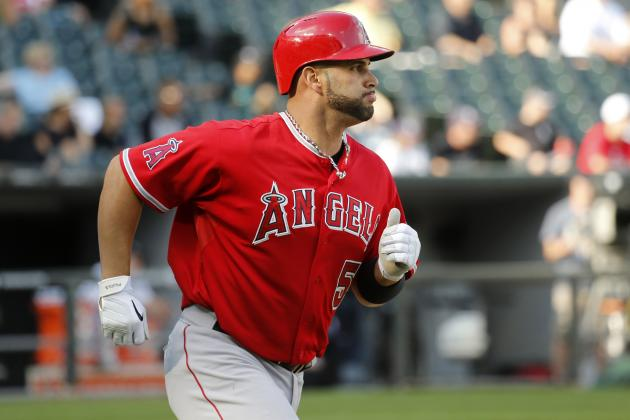 Angels' Albert Pujols Moves into No. 24 on All-Time Home Run Leaderboard