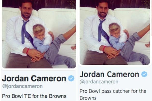 Jordan Cameron Changes Twitter Bio After Jimmy Graham Ruling