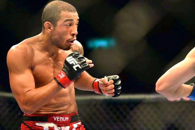 Jose Aldo Pulls out of UFC 176 Title Defense, Citing Injury