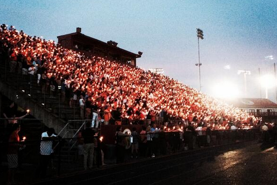 Candlelight Tribute for Auburn's Lutzenkirchen