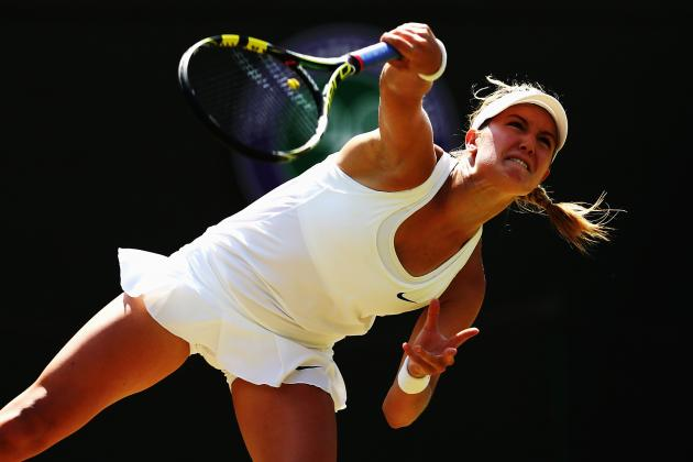 Bouchard vs. Halep: Score and Highlights from Wimbledon 2014 Women's Semifinals