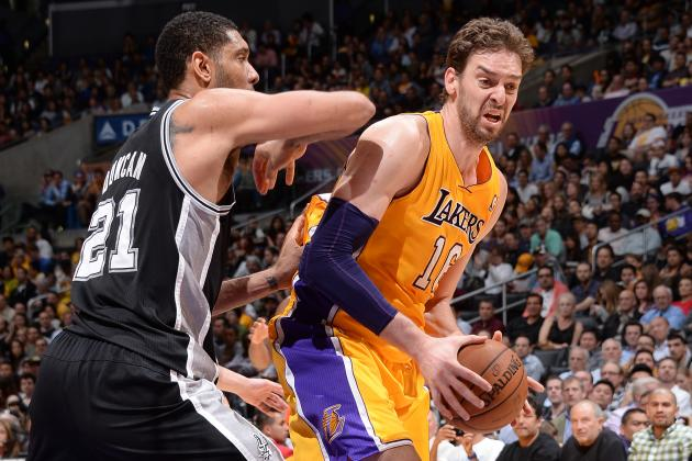 Report: Gasol Seriously Considering Spurs