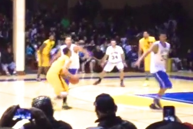 Stephen Curry Drops 43 Points in San Francisco Pro-Am Basketball Game