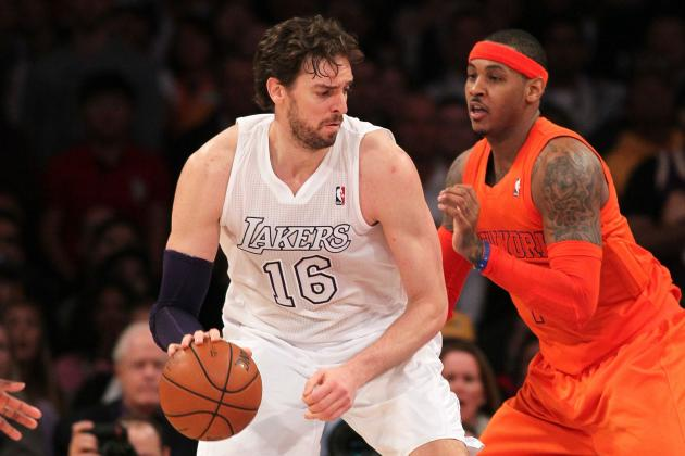 Report: Lakers Envision Melo-Gasol Frontcourt