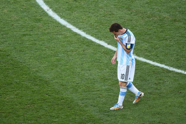 Lionel Messi Heading for Argentina World Cup Catastrophe, Fears Diego Maradona