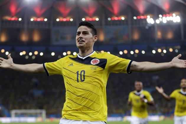 James Rodriguez Wants to Join Cristiano Ronaldo at Real Madrid, Claims Father