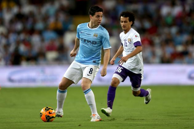 New Samir Nasri Contract Underlines Midfielder's Importance to Manchester City