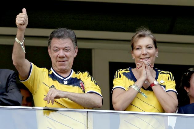 Colombian President Declares National Holiday for World Cup Quarter-Final