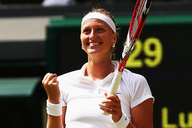 Safarova vs. Kvitova: Score, Highlights from Wimbledon 2014 Women's Semifinals