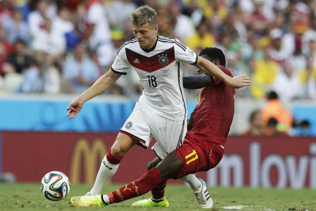 Why Toni Kroos Will Be Key Man for Germany in World Cup Quarter-Final vs. France