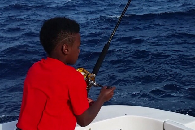 LeBron James Jr. Caught a Tuna While Fishing and His Dad Went Nuts