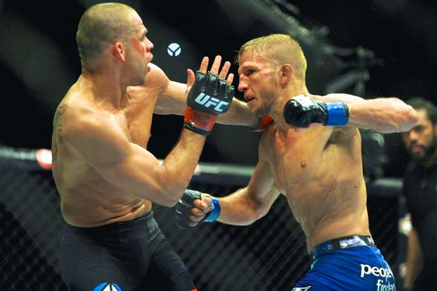 T.J. Dillashaw vs. Renan Barao Rematch Likely Set for UFC 177