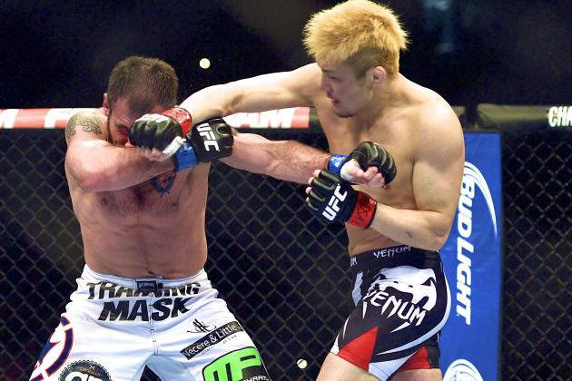 Takanori Gomi vs. Myles Jury Added to Fight Night Japan Card
