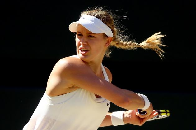 Simona Halep vs. Eugenie Bouchard: Recap, Results from Wimbledon 2014 Semifinal