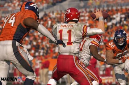 First Look at Broncos Von Miller and DeMarcus Ware in Madden NFL 15