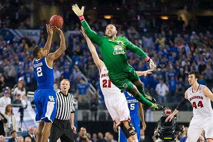 #ThingsTimHowardCouldSave: Wisconsin's season?(PHOTO)