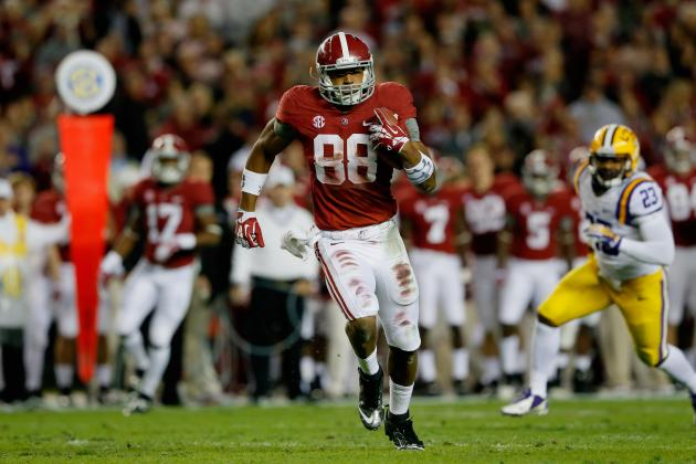 Alabama Football: Why O.J. Howard Will Be Team's X-Factor in 2014