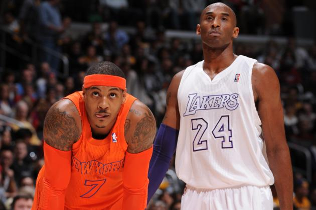 How Los Angeles Lakers Can Go from Long Shots to Favorites for Carmelo Anthony