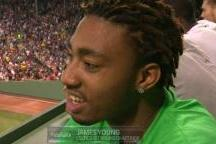James Young Went to His First Baseball Game EVER Last Night