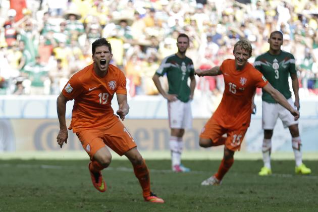 Netherlands vs. Costa Rica: Form Guide, Live Stream and More for 2014 World Cup