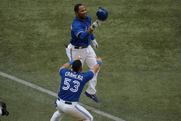 Edwin Encarnacion Hits Blue Jays' 1st Walk-off Home Run Since May 2012