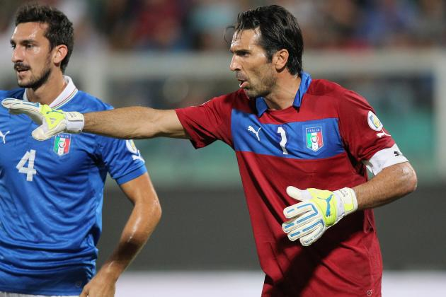 Italy Should Keep Gianluigi Buffon as Keeper and Captain Through Euro 2016