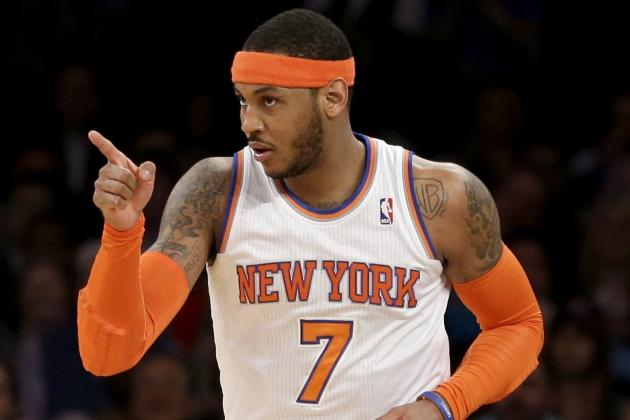 New York Knicks Look Like Leader for Carmelo Anthony in Free Agency