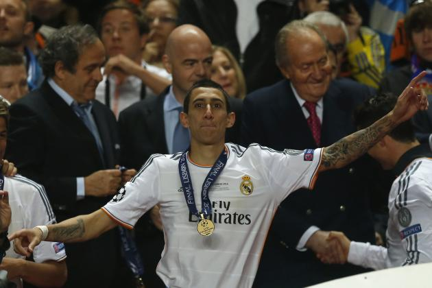 Manchester United Transfer News: Angel Di Maria Would Be Devils' Dream Signing