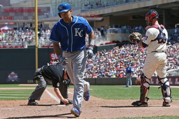 Royals' Raul Ibanez (42 Years Old) Homers for Multiple Teams in the Same Season