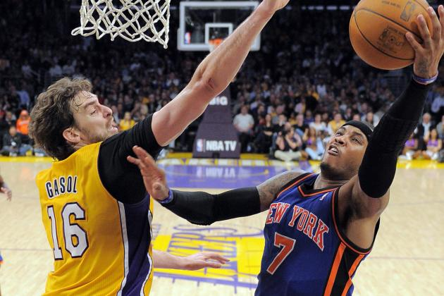 Report: Melo Hopes to Talk to Gasol About NY