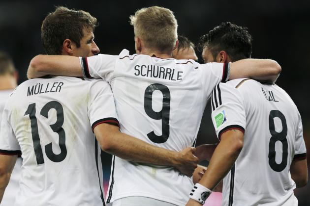 Germany on Verge of Record 4th Straight World Cup Semifinal