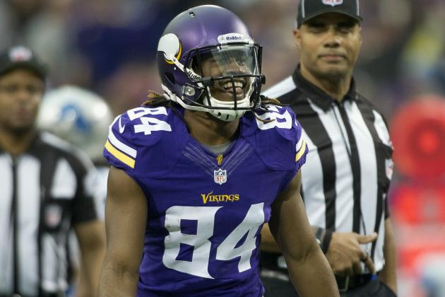 Improving WR Cordarrelle Patterson Ready to Show off New Tricks in 2014