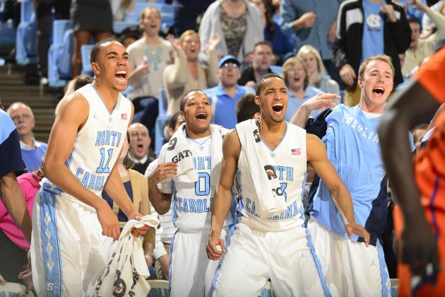 UNC Basketball: How Deep Will Tar Heels' Rotation Go in 2014-15?