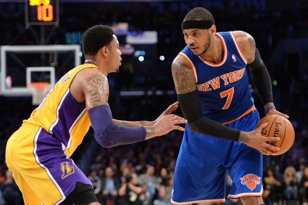 Lakers Go Hollywood in Meeting with Melo