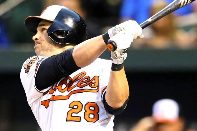 Steve Pearce's 4-Hit Night, Huge 2014 Numbers Help Push Orioles into 1st
